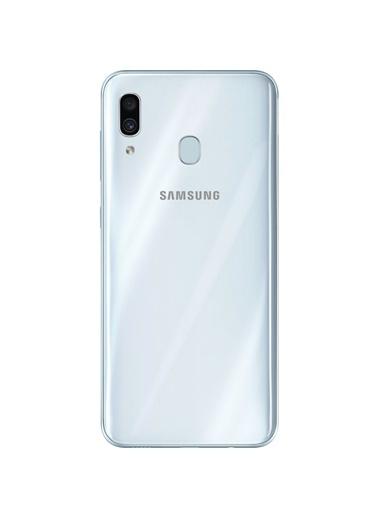 Samsung Galaxy A30 64GB Beyaz Cep Telefonu - Samsung Türkiye Garantili Beyaz